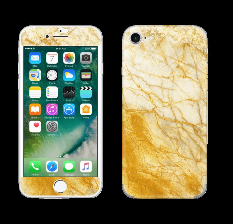 Rust og gull stein Skin IPhone 7