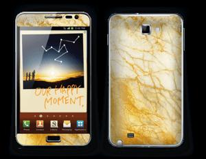 Rusty marble stone Skin Galaxy Note