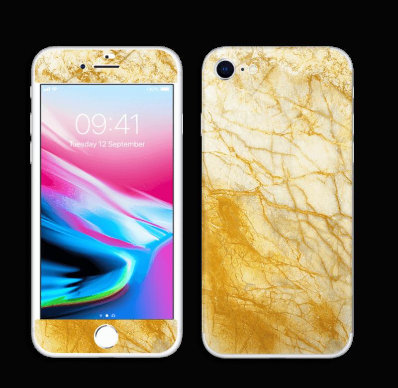Rust og gull stein Skin IPhone 8