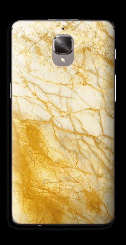 Rust og gull stein Skin OnePlus 3T