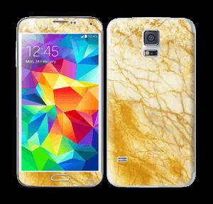Rust og gull stein Skin Galaxy S5