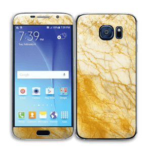 Rust og gull stein Skin Galaxy S6