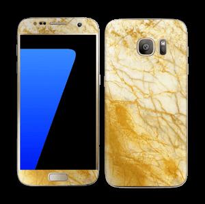 Rust og gull stein Skin Galaxy S7