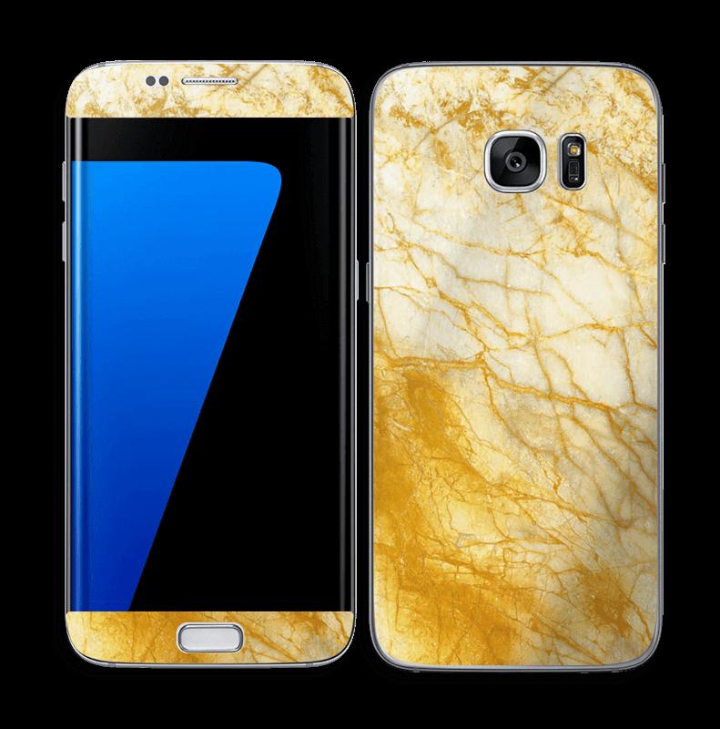 Rust og gull stein Skin Galaxy S7 Edge