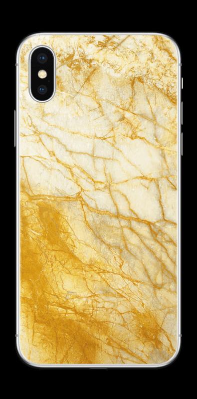 Rust og gull stein Skin IPhone X