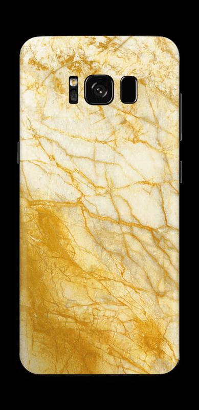 Rust og gull stein Skin Galaxy S8