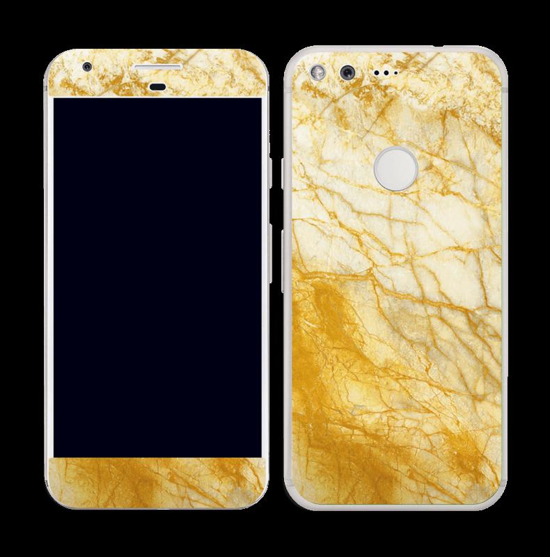 Rust og gull stein Skin Pixel