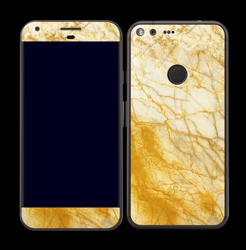 Rust og gull stein Skin Pixel XL