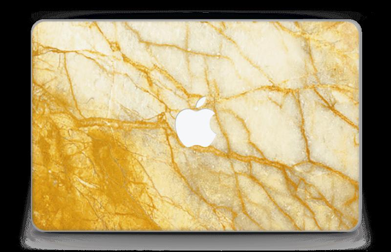 "Rust og gull stein Skin MacBook Air 11"""