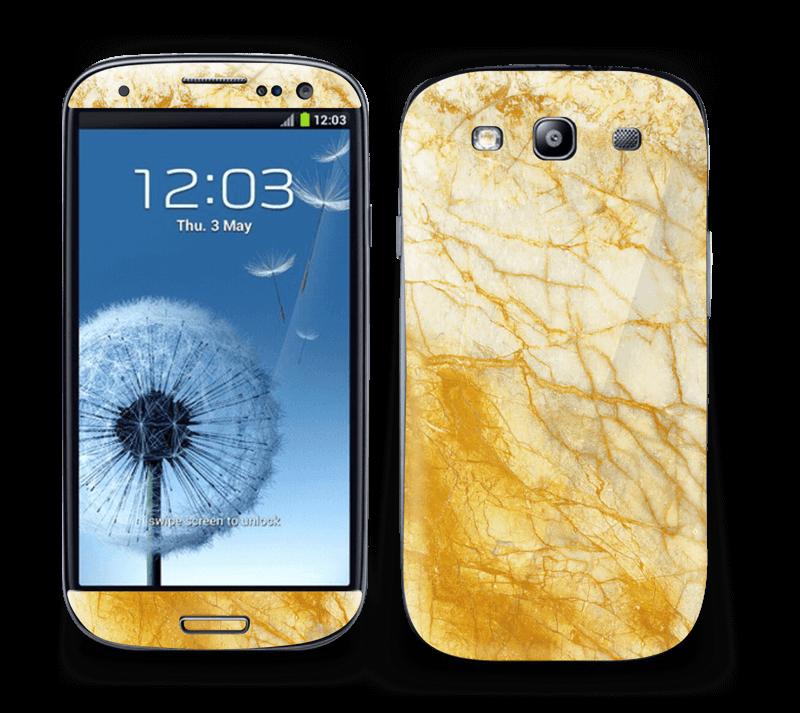 Rust og gull stein Skin Galaxy S3