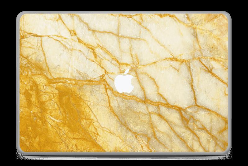 """Rust og gull stein Skin MacBook Pro 17"""" -2015"""