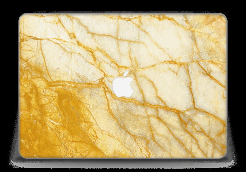 "Rust og gull stein Skin MacBook Pro Retina 15"" 2015"