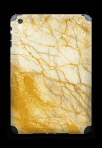 Rust og gull stein Skin IPad mini 2 back