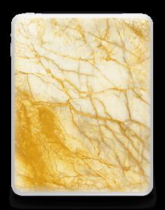 Rust og gull stein Skin IPad 1