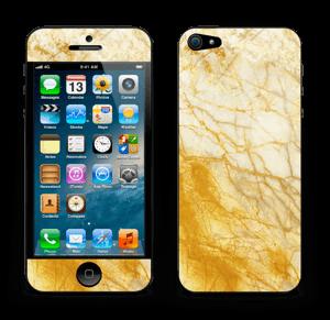 Rust og gull stein Skin IPhone 5