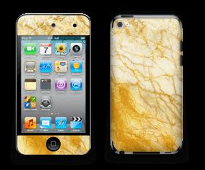 Rust og gull stein Skin IPod Touch 4th Gen