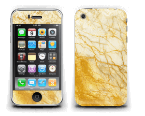 Rust og gull stein Skin IPhone 3G/3GS