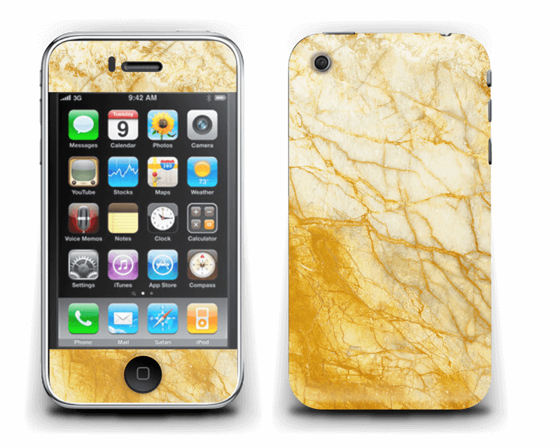 Rust og gull stein Skin IPhone 3G/3GS