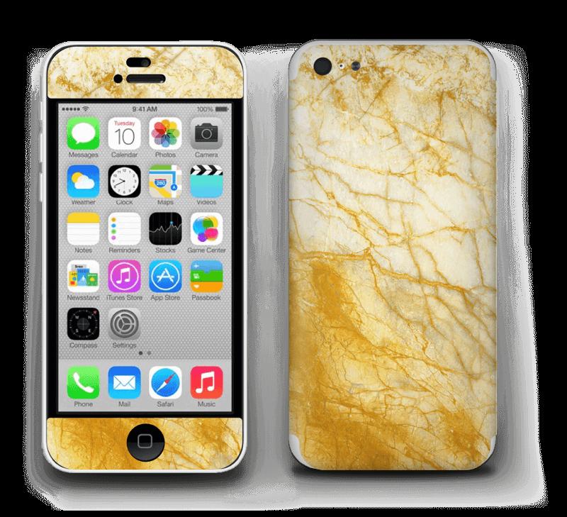 Rust og gull stein Skin IPhone 5c