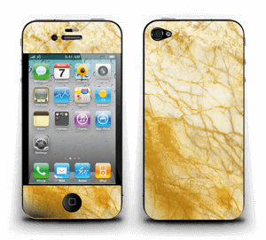 Rust og gull stein Skin IPhone 4/4s