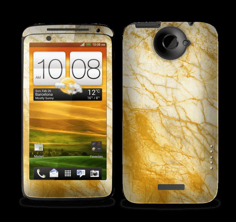 Rust og gull stein Skin One X
