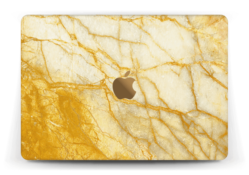 "Rust og gull stein Skin MacBook 12"""