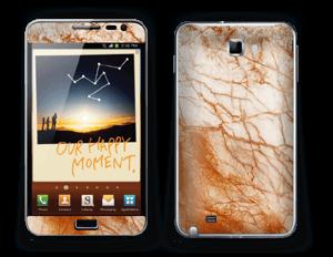 Rusten marmor Skin Galaxy Note