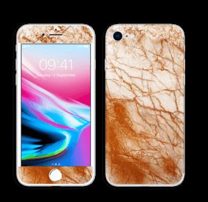 Rusten marmor Skin IPhone 8