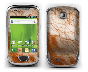 Rusty marble Skin Galaxy Mini