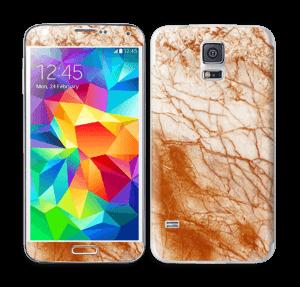 Rusten marmor Skin Galaxy S5