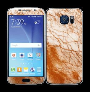 Rusten marmor Skin Galaxy S6