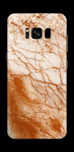 Rusten marmor Skin Galaxy S8