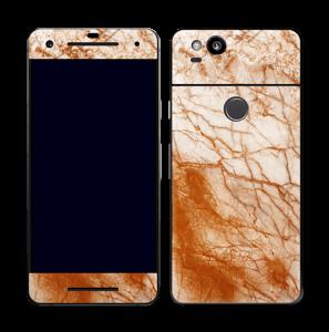 Rusten marmor Skin Pixel 2