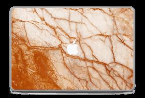 """Rusten marmor Skin MacBook Pro 17"""" -2015"""