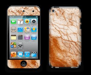 Rusten marmor Skin IPod Touch 4th Gen