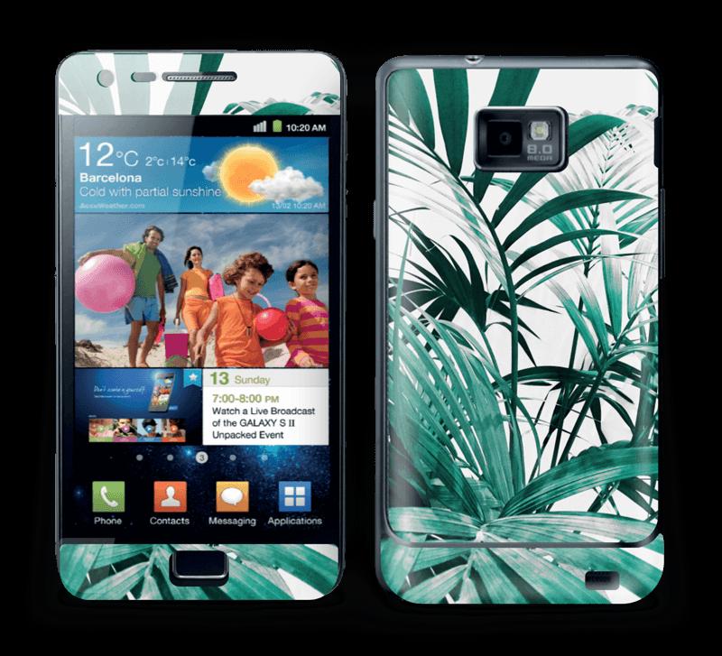 Jungle tropicale Skin Galaxy S2