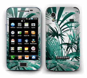 Green leaves Skin Galaxy Ace