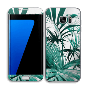 Green leaves Skin Galaxy S7 Edge