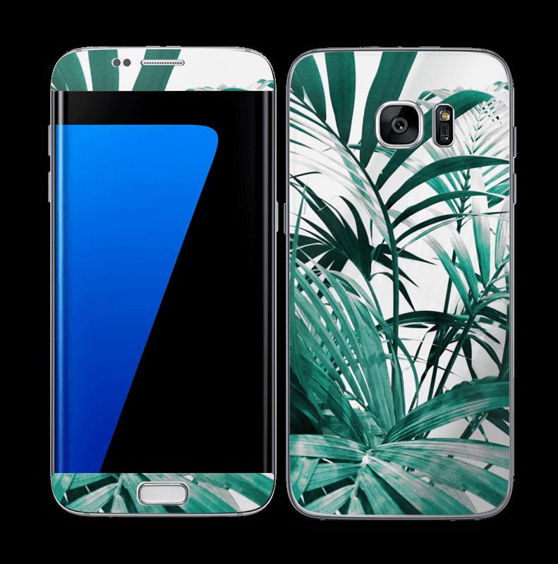 Jungle tropicale Skin Galaxy S7 Edge