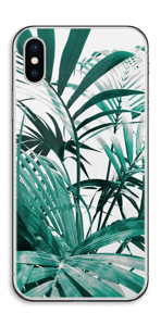 Green leaves Skin IPhone X