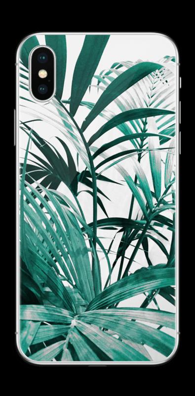 Jungle tropicale Skin IPhone XS