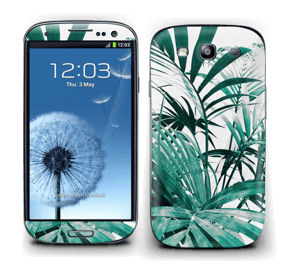 Green leaves Skin Galaxy S3