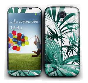 Green leaves Skin Galaxy S4
