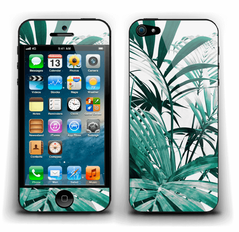 Jungle tropicale Skin IPhone 5