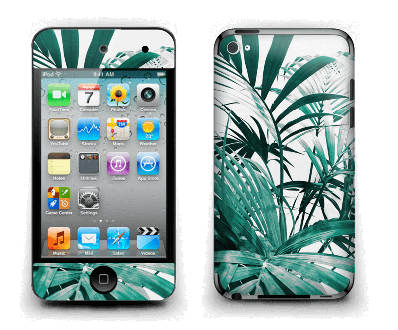 Jungle tropicale Skin IPod Touch 4th Gen