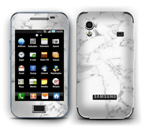 Carrara marble Skin Galaxy Ace
