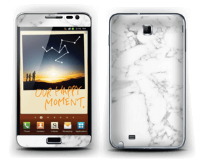 Carrara marble Skin Galaxy Note
