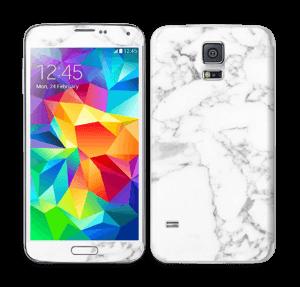 Carrara marble Skin Galaxy S5