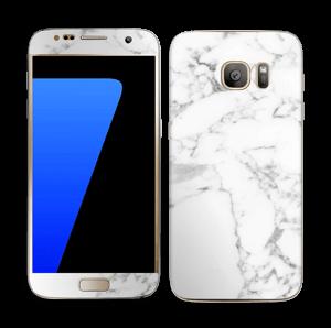 Carrara marble Skin Galaxy S7