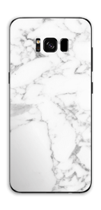 Carrara marble Skin Galaxy S8 Plus